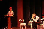 """Denise Pence and Alan Altschuler at """"Union Women at Work: Inspiration In Motion"""" on March 5, 2012 at Theatre at Saint Peter's Church - Home of The York Theatre, New York City, New York which was """"sponsored by Actors' Equity Associations Eastern EEO Committee.  The event was an Equity event in celebration of Womens History Month.  (Photo by Sue Coflin/Max Photos) (Photo by Sue Coflin/Max Photos)"""