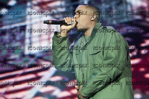 Nas (born Nasir bin Olu Dara Jones) - performing live at the O2 Arena in London UK - 19 Mar 2013.  Photo credit: Jeff Barclay/Music Pics Ltd/IconicPix