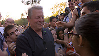 An Inconvenient Sequel: Truth to Power (2017)<br /> Al Gore attending a rally at Standford Univeristy following his speech<br /> *Filmstill - Editorial Use Only*<br /> CAP/FB<br /> Image supplied by Capital Pictures