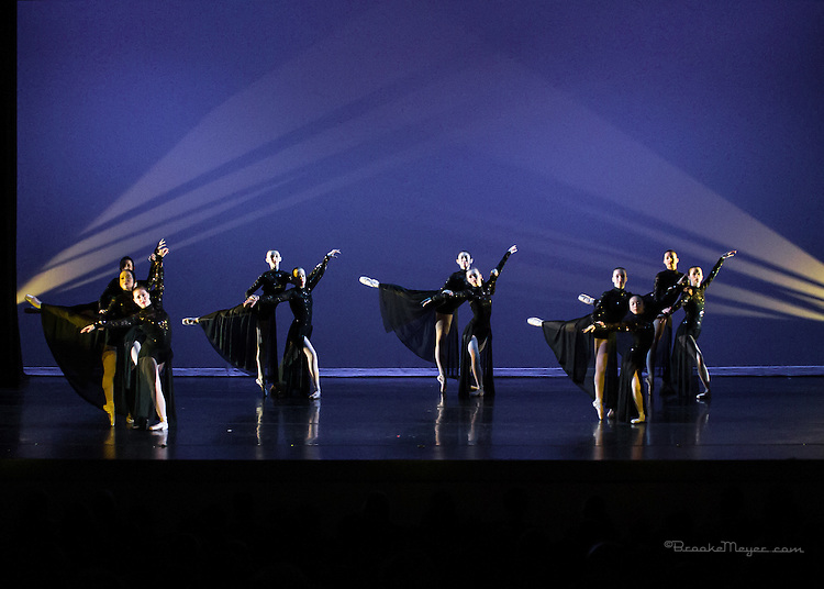 "Matinee Performance of ""Invisible Walls""  Choreography by Leah Copley Summers.  Production of Cary Ballet Company, 18th Annual Spring Gala. 14 March 2015, Cary Arts Center."