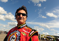 Aug. 7, 2009; Watkins Glen, NY, USA; NASCAR Sprint Cup Series driver Ron Fellows during qualifying for the Heluva Good at the Glen. Mandatory Credit: Mark J. Rebilas-