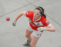 20th September 2014; <br /> Catriona Casey of Cork<br /> M Donnelly All-Ireland Ladies 60x30 Handball Singes Final<br /> Catriona Casey (Cork) v Martina McMahon (Limerick) . <br /> Abbeylara, Co Longford<br /> Picture credit: Tommy Grealy/actionshots.ie