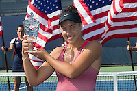 Ana Konjuh<br /> Tennis - US Open  - Grand Slam -  Flushing Meadows  2013 -  New York - USA - United States of America - Monday 2nd September 2013. <br /> &copy; AMN Images, 8 Cedar Court, Somerset Road, London, SW19 5HU<br /> Tel - +44 7843383012<br /> mfrey@advantagemedianet.com<br /> www.amnimages.photoshelter.com<br /> www.advantagemedianet.com<br /> www.tennishead.net