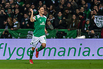 08.03.2019, Weserstadion, Bremen, GER, 1.FBL, Werder Bremen vs FC Schalke 04<br /> <br /> DFL REGULATIONS PROHIBIT ANY USE OF PHOTOGRAPHS AS IMAGE SEQUENCES AND/OR QUASI-VIDEO.<br /> <br /> im Bild / picture shows<br /> Jubel 2:1, Max Kruse (Werder Bremen #10) bejubelt seien Treffer zum 2:1 per Foulelfmeter, <br /> <br /> Foto &copy; nordphoto / Ewert