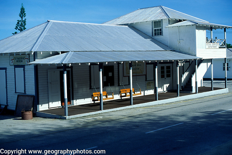 Museum, Cayman Brac, Cayman Islands, British West Indies,