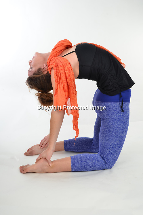 Stock photos of woman doing yoga
