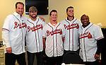 Members of the Atlanta Braves visit Academy Sports in Spartanburg, S.C., as part of the 2011 Braves Caravan, Feb. 3, 2011.