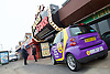 UKIP <br /> Nigel Farage makes his first speech of the GE2015 at Movie Star Cinema, Canvey Island, Great Britain <br /> 12th February 2015 <br /> <br /> <br /> GV <br /> <br /> <br /> Photograph by Elliott Franks <br /> Image licensed to Elliott Franks Photography Services