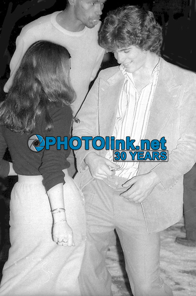 John Kennedy Jr. at Studio 54 1977<br /> Photo By Adam Scull/PHOTOlink.net