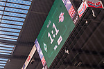 15.04.2018, Weser Stadion, Bremen, GER, 1.FBL, Werder Bremen vs RB Leibzig, im Bild<br /> <br /> <br /> Anzeigentafel Endstnd / Spielstand / Feature, Impression 1:1<br /> Foto &copy; nordphoto / Kokenge