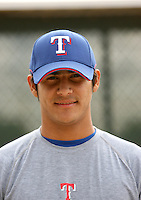 Martin Perez / Texas Rangers 2008 Instructional League..Photo by:  Bill Mitchell/Four Seam Images