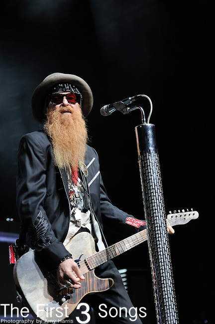 Billy Gibbons of ZZ Top performs at the Riverbend Music Center in Cincinnati, Ohio.