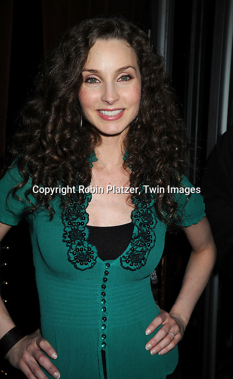 actress Alicia Minshew of All My Children