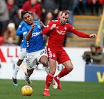 03.03.2019 Aberdeen v Rangers: Alfredo Morelos and Niall McGinn