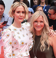 """TORONTO, ONTARIO - SEPTEMBER 07: Sarah Paulson and Jill Culton attend the """"Abominable"""" premiere during the 2019 Toronto International Film Festival at Roy Thomson Hall on September 07, 2019 in Toronto, Canada. <br /> CAP/MPIIS<br /> ©MPIIS/Capital Pictures"""