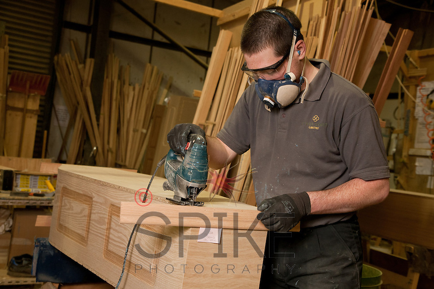 Coffin makers Steve Soult Ltd of Kirkby-in-Ashfield
