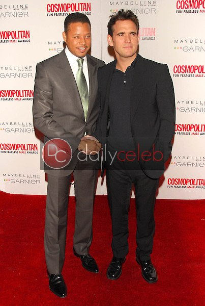 Terrence Howard and Matt Dillon<br />at the Cosmopolitan Fun Fearless Male Awards. Day After, Hollywood, CA 02-13-06<br />Dave Edwards/DailyCeleb.com 818-249-4998