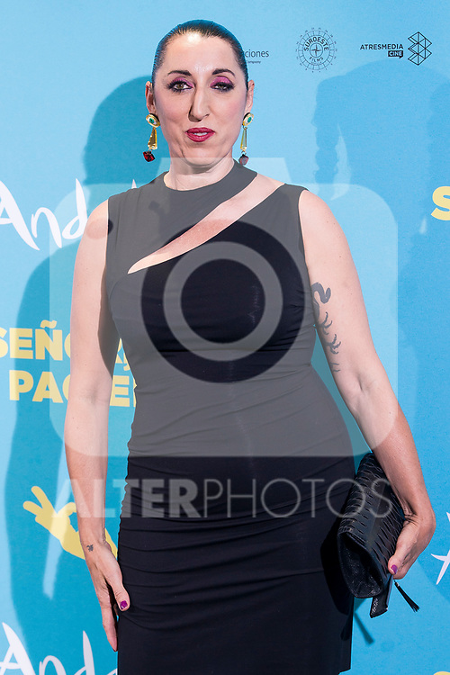 """Rossy de Palma attends to premiere of """"Senor, dame paciencia"""" at Fortuny Palace in Madrid, June 15, 2017. Spain.<br /> (ALTERPHOTOS/BorjaB.Hojas)"""