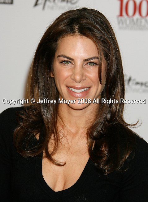 BEVERLY HILLS, CA. - December 05: Actress Jillian Michaels arrives at The Hollywood Reporter`s Annual Women In Entertainment Breakfast at the Beverly Hills Hotel on December 5, 2008 in Beverly Hills, California..