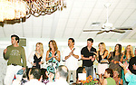 Austin Peck, Crystal Hunt, Susan Haskell, Thorsten Kaye, Trent Dawson, Marnie Schulenburg, Alexandra Chando, Terri Colombino, on stage Q & A and HIGHLY SUCCESSFUL Live Auction at the 12th Annual SWFL SoapFest - A Night of the Stars to benefit Marco Island YMCA, theatre program & Art League of Marco Island on May 15, 2010  at Bistro Soleil at the historic at the Olde Marco Inn, Marco Island, FLA. (Photo by Sue Coflin/Max Photos)