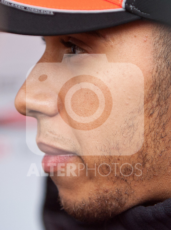 21.07.2011, Nuerburgring, Adenau, GER, F1, Grosser Preis von Deutschland, Nürburgring, Streckenbesichtigung der Fahrer, im Bild Lewis Hamilton (GBR), McLaren-Mercedes // during circuit inspection at Formula One Championships 2011 German Grand Prix held at the Nuerburgring, Adenau, Germany, 21/7/2011, EXPA Pictures © 2011, PhotoCredit: EXPA/ J. Groder