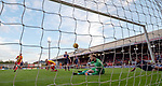 04.05.2018 Partick Thistle v Ross County: Chris Erskine scores past Scott Fox