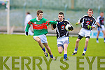 Action shots between Tralee CBS V Killorglin Intermediate in the Colaisti Na Mumhan 2008/09 Corn Ui Mhuri Semi Final at Austin Stack Park, Tralee on Sunday. ......................