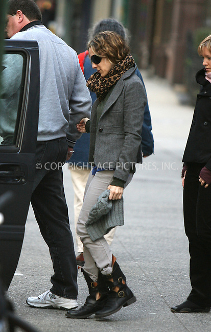 WWW.ACEPIXS.COM ** ** ** ....November 8 2007, New York City....Actress Sarah Jessica Parker was spotted being driven around her downtown neighborhood looking at local chruches. It is possible that she was scouting locations for her latest movie 'Sex and the City, The Movie'.....Please byline: Philip Vaughan -- ACEPIXS.COM.. *** ***  ..Ace Pictures, Inc:  ..tel: (646) 769 0430..e-mail: info@acepixs.com..web: http://www.acepixs.com