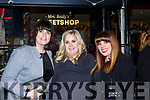 Loreto O'Leary, Niamh Long, and Tara Monahan Gneeveguilla celebrating New Years Eve in Reidys bar Killarney