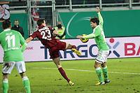 Marcel Stadel (OFC) gegen Diegom(Wolfsburg)