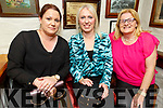 Tina Godley, Karen O'Sullivan and Moira Horgan from Ballyheigue enjoying the evening in Cassidys on Friday