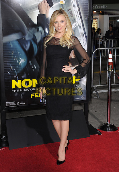 LOS ANGELES, CA - FEBRUARY 24 -Bar Paly attends Universal Pictures' Non-Stop held at Regency Village Theatre in Westwood, California on February 24,2014                                                                               <br /> CAP/DVS<br /> &copy;DVS/Capital Pictures