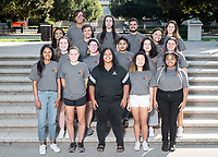 Residential Education & Housing Services staff group photos, Occidental College, Aug. 26, 2019.<br /> (Photo by Marc Campos, Occidental College Photographer)