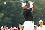 Darren Clarke (NIR) teeing off on the 3rd on day 1of the World Golf Championship Bridgestone Invitational, from Firestone Country Club, Akron, Ohio. 4/8/11.Picture Fran Caffrey www.golffile.ie