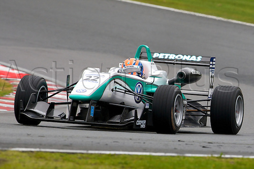 07.04.2012 Cheshire, England.  Malaysian driver Jazeman Jaafar in his Carlin Dallara Volkswagen in action during rounds 1, 2 & 3 of the Cooper Tires British Formula 3 International Series at Oulton Park.
