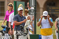 Brooks Koepka (USA) looks over his tee shot on 1 during round 3 of The Players Championship, TPC Sawgrass, at Ponte Vedra, Florida, USA. 5/12/2018.<br /> Picture: Golffile | Ken Murray<br /> <br /> <br /> All photo usage must carry mandatory copyright credit (&copy; Golffile | Ken Murray)