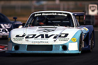 LE MANS, FRANCE: David Hobbs drives the Porsche 935/78-81 JR-002 en route to finishing 4th in the 24 Hours of Le Mans with co-driver and car owner John Fitzpatrick on June 20, 1982, at Circuit de la Sarthe in Le Mans, France. (Photo by Bob Harmeyer)