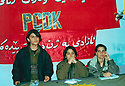 Iraq 2003.Conference of PCDK in Qandil<br />