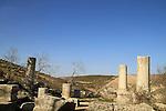 Israel, Upper Galilee, the ancient Synagogue of Gush Halav