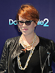 WESTWOOD, CA- SEPTEMBER 07: Actress Molly Ringwald arrives at the Los Angeles premiere of 'Dolphin Tale 2' at Regency Village Theatre on September 7, 2014 in Westwood, California.