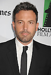 BEVERLY HILLS, CA - OCTOBER 22: Ben Affleck arrives at the 16th Annual Hollywood Film Awards Gala presented by The Los Angeles Times held at The Beverly Hilton Hotel on October 22, 2012 in Beverly Hills, California.