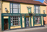 The Goat and Boot traditional Greene King pub, East Hill, Colchester, Essex, England