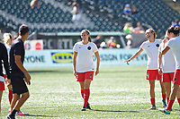 Portland, OR - Saturday August 05, 2017: Katherine Reynolds during warmups before a regular season National Women's Soccer League (NWSL) match between the Portland Thorns FC and the Houston Dash at Providence Park.