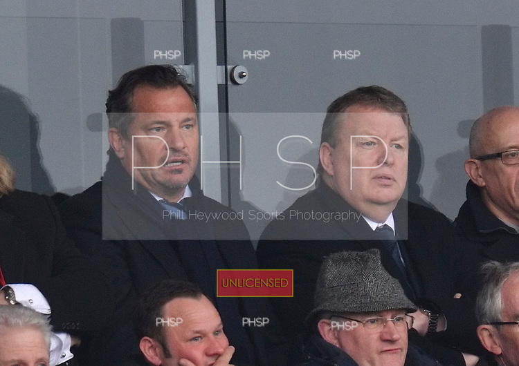 11/03/2017 Sky Bet League 1 Fleetwood Town v Bolton Wanderers<br /> Bolton Wanderers director, Dean Holdsworth