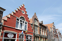 Nederland  Hoorn 2016. Gevels in het centrum van Hoorn. Foto Berlinda van Dam / Hollandse Hoogte