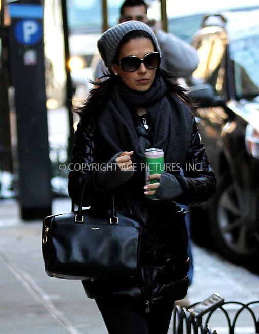 WWW.ACEPIXS.COM<br /> <br /> December 18 2013, New York City<br /> <br /> Hilaria Baldwin walks in the East Village on December 18 2013 in New York City<br /> <br /> By Line: Zelig Shaul/ACE Pictures<br /> <br /> <br /> ACE Pictures, Inc.<br /> tel: 646 769 0430<br /> Email: info@acepixs.com<br /> www.acepixs.com