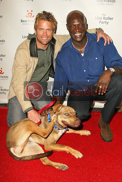 David Chokachi and Peter Mensah<br />