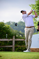 Bill Haas (USA) watches his tee shot on 6 during round 6 of the World Golf Championships, Dell Technologies Match Play, Austin Country Club, Austin, Texas, USA. 3/26/2017.<br /> Picture: Golffile | Ken Murray<br /> <br /> <br /> All photo usage must carry mandatory copyright credit (&copy; Golffile | Ken Murray)