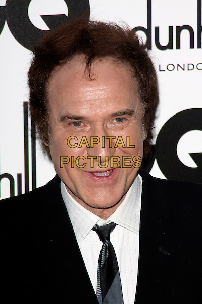 RAY DAVIES.The GQ Men of The Year Awards held at The Royal Opera House, Covent Garden, London, England, UK..September 7th 2010.headshot portrait black white .CAP/AH.©Adam Houghton/Capital Pictures.