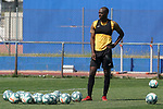 Getafe's Allan Nyom during training session. May 25,2020.(ALTERPHOTOS/Acero)